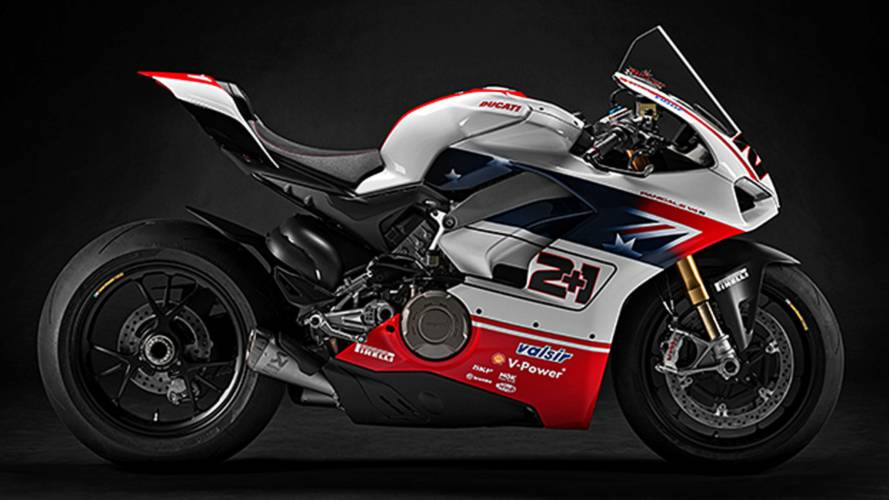 Race of Champions Panigale V4 Fetched $140k