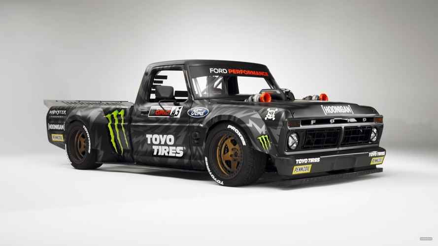 Ken Block's crazy AWD F-150 Hoonitruck revealed with Ford GT power