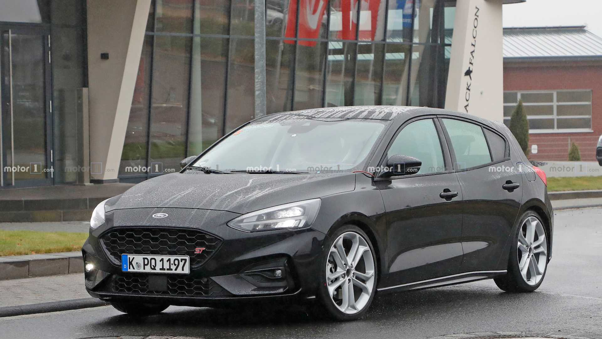 Ford bidden fruit next ford focus st spied completely naked