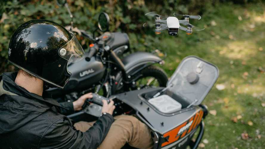 Ural's new LE Air is the world's first drone-equipped bike