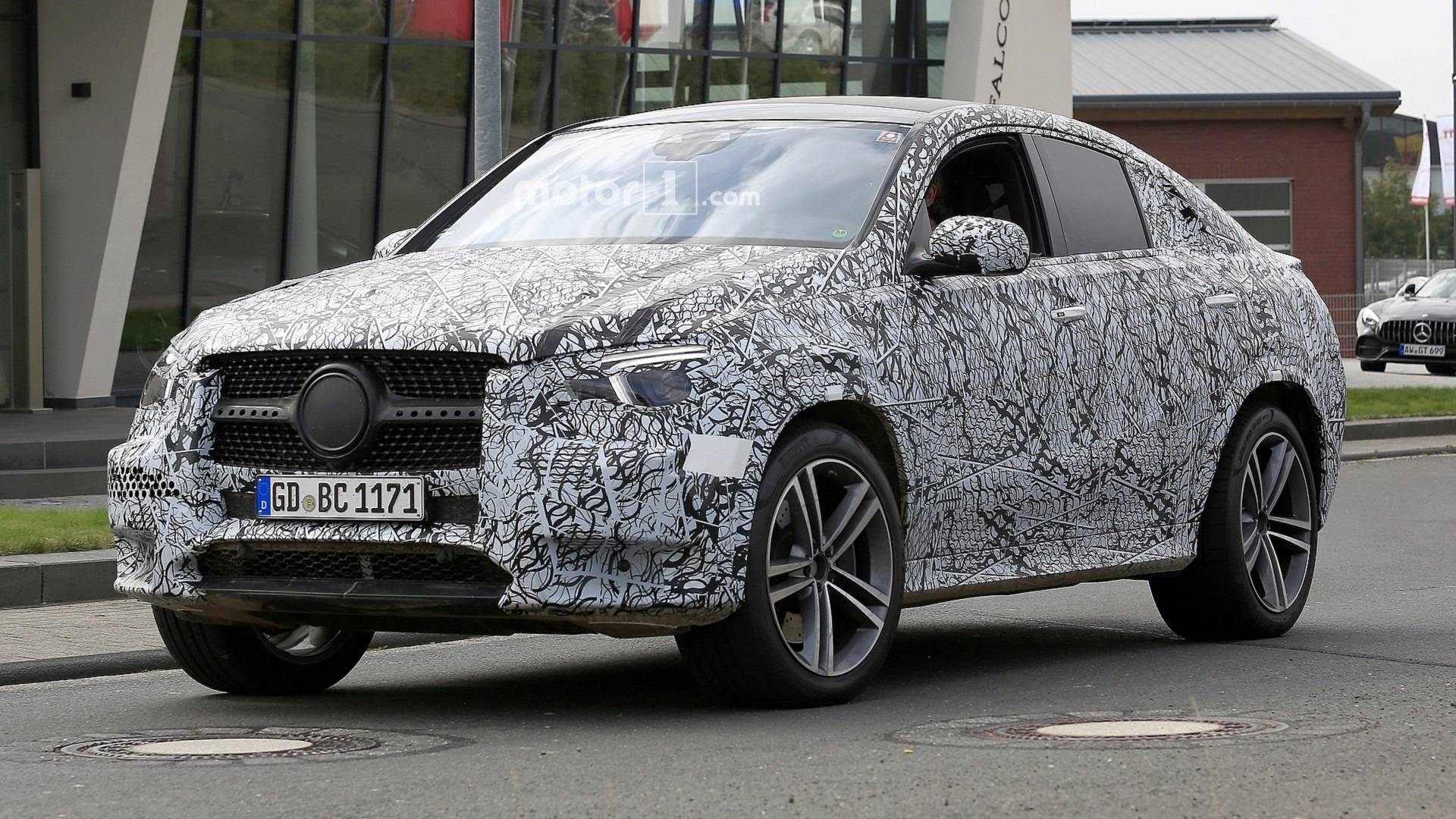 2020 Mercedes Gle Coupe Take A Good Look With 19 Spy Shots