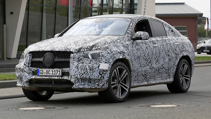 2020 Mercedes GLE Coupe: Take A Good Look With 19 Spy Shots