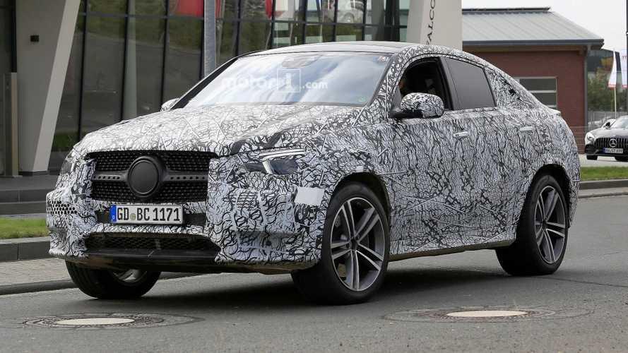 2020 Mercedes GLE Coupe kameralara yakalandı