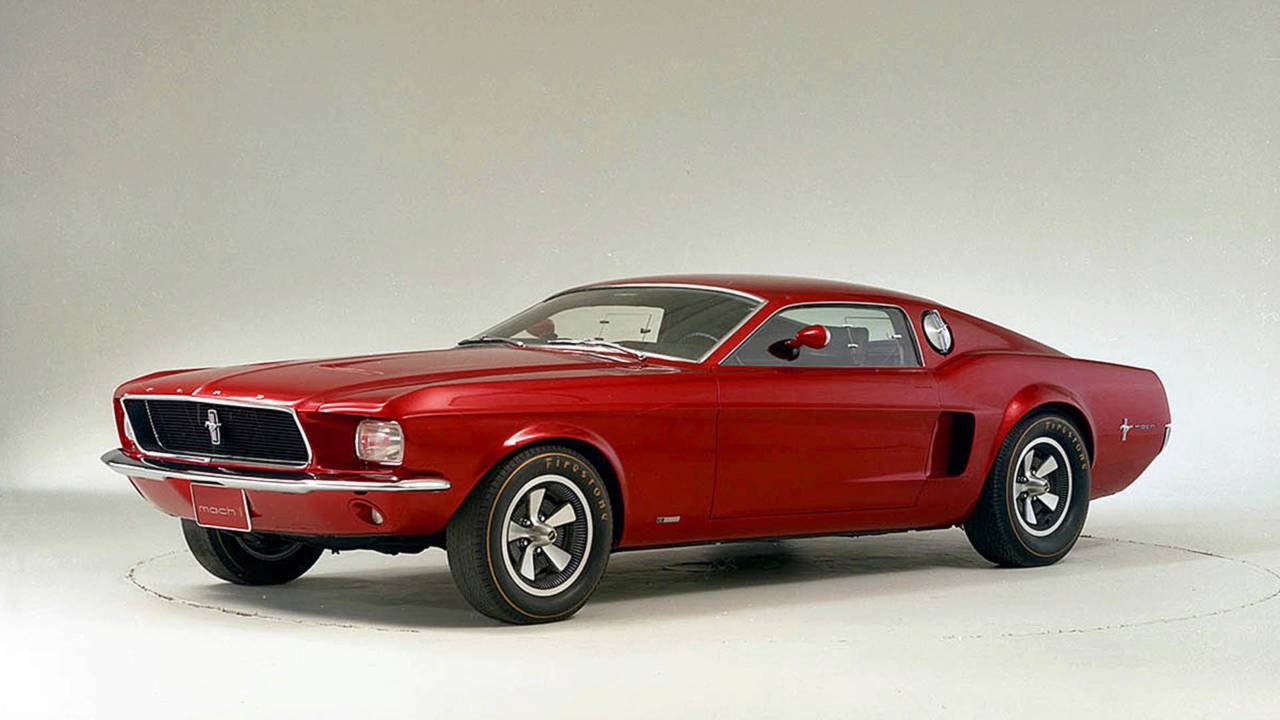 Ford Mustang Mach 1 Concept (1966)