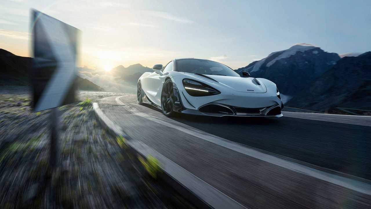 Novitec Modifiyeli McLaren 720S