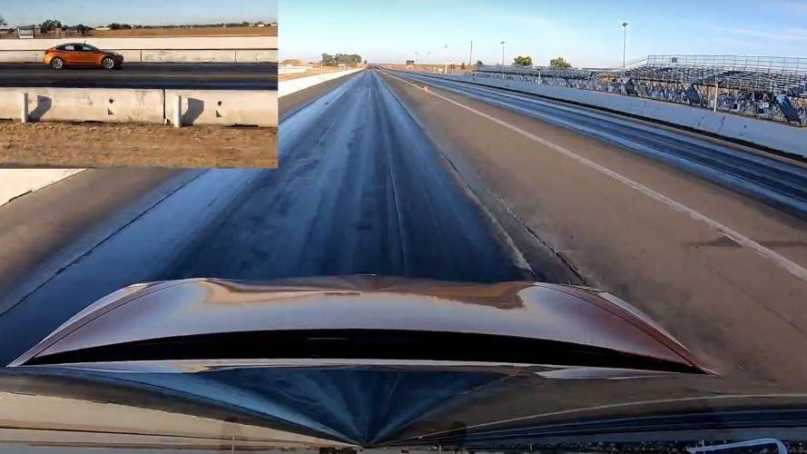 Watch Tesla Model 3 Performance lay down new 1/4-mile record