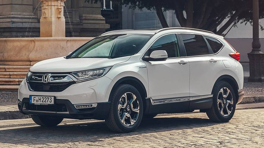 New Honda CR-V Hybrid to cost £29,105