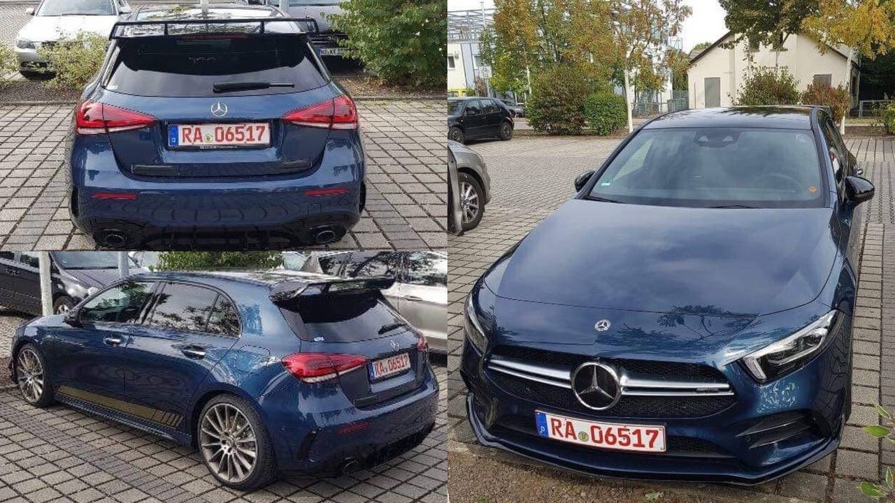 2019 Mercedes-AMG A35 4Matic Denim Blue
