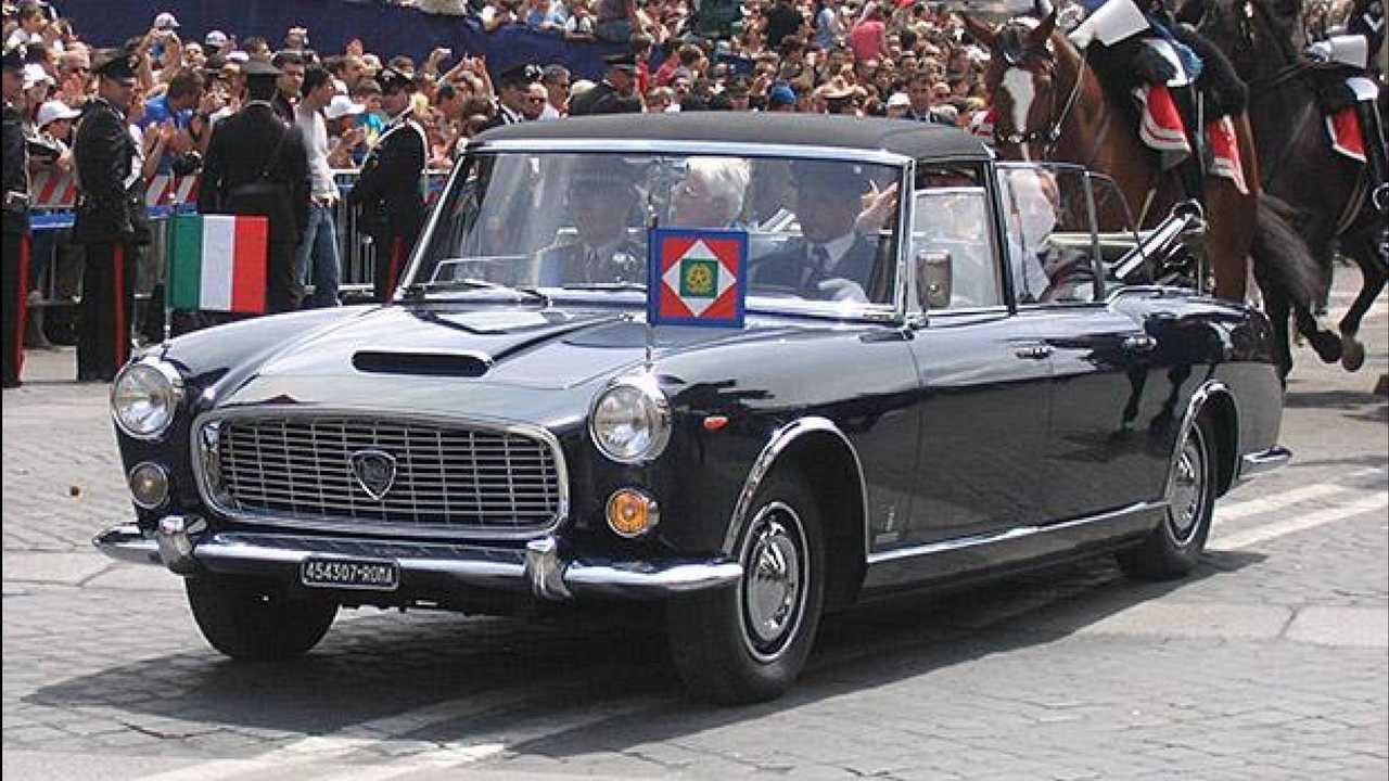 Sergio Mattarella (Italien): Lancia Flaminia 335
