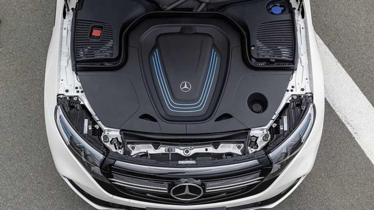 Mercedes EQS kapak