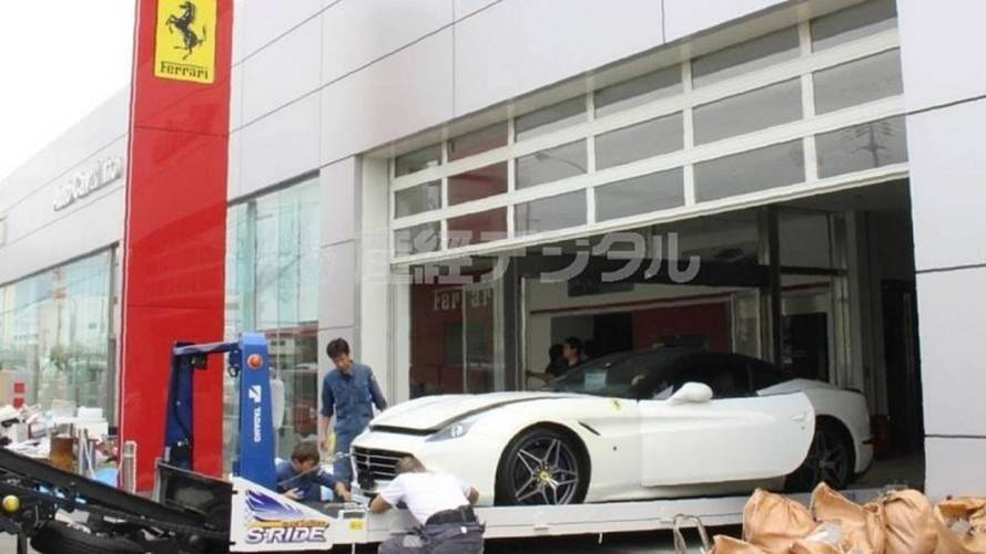 Le typhon Jebi a anéanti 51 Ferrari au Japon
