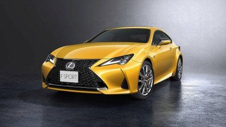 Lexus RC erhält Facelift