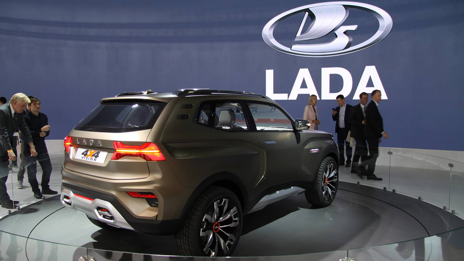 Lada Previews Next Gen Niva Offroader With New 4x4 Vision