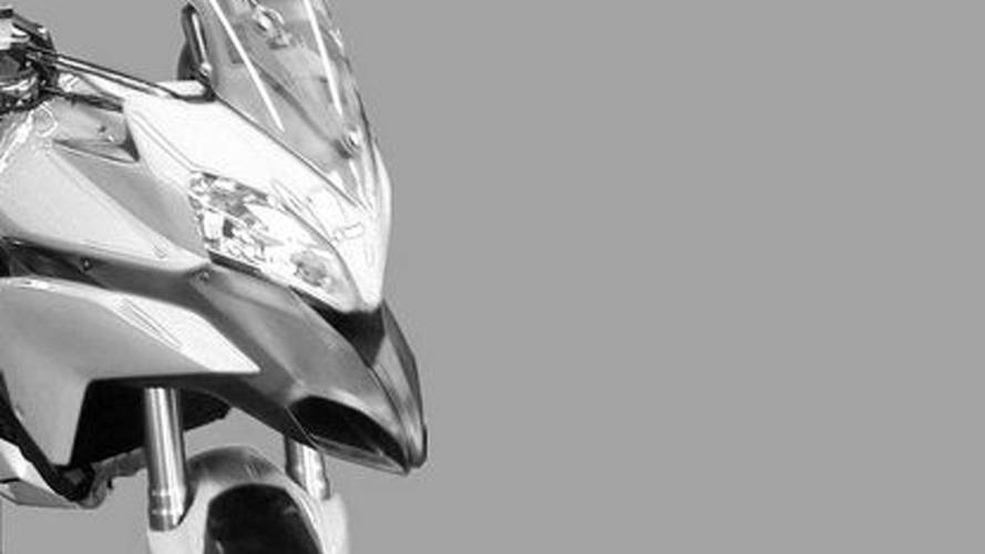 2010 Ducati Stradaperta: photos leak of finished bike