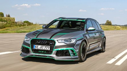 Abt RS6-E First Drive: 1,018-HP Hybrid Hijinks
