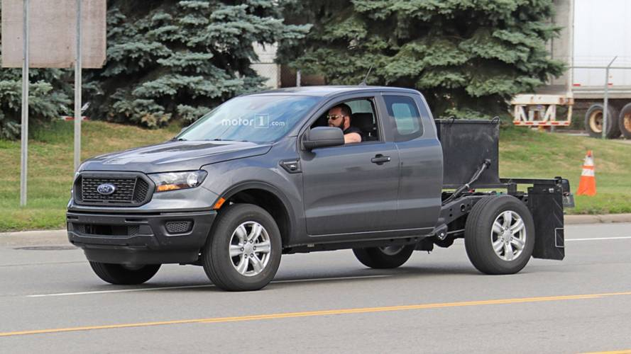 Ford Ranger XL Spied Getting Out Of Bed In Dearborn