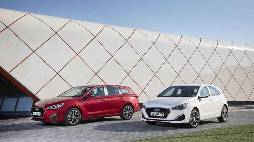 Petite mise à jour pour la Hyundai i30