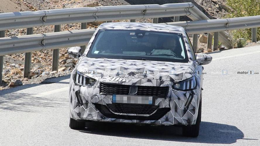 2019 Peugeot 208 new spy photos