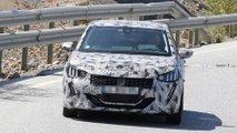 2019 Peugeot 208 new spy photos