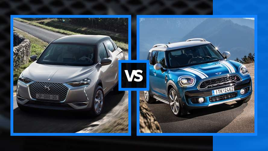 DS 3 CROSSBACK 2019 vs. MINI Countryman 2018, duelo de cifras