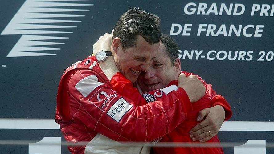 Jean Todt besucht Michael Schumacher mindestens zweimal im Monat