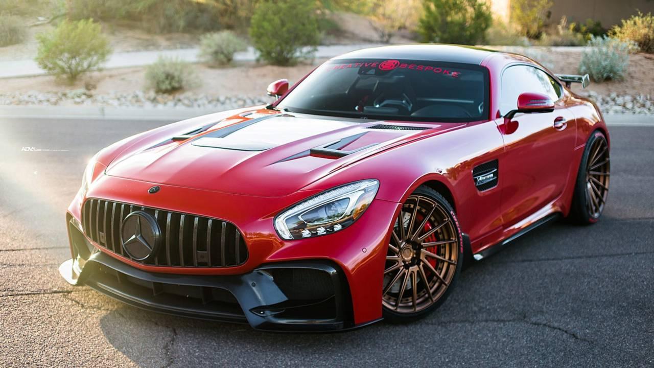 Mercedes-AMG GT S oleh Creative dipesan lebih dahulu