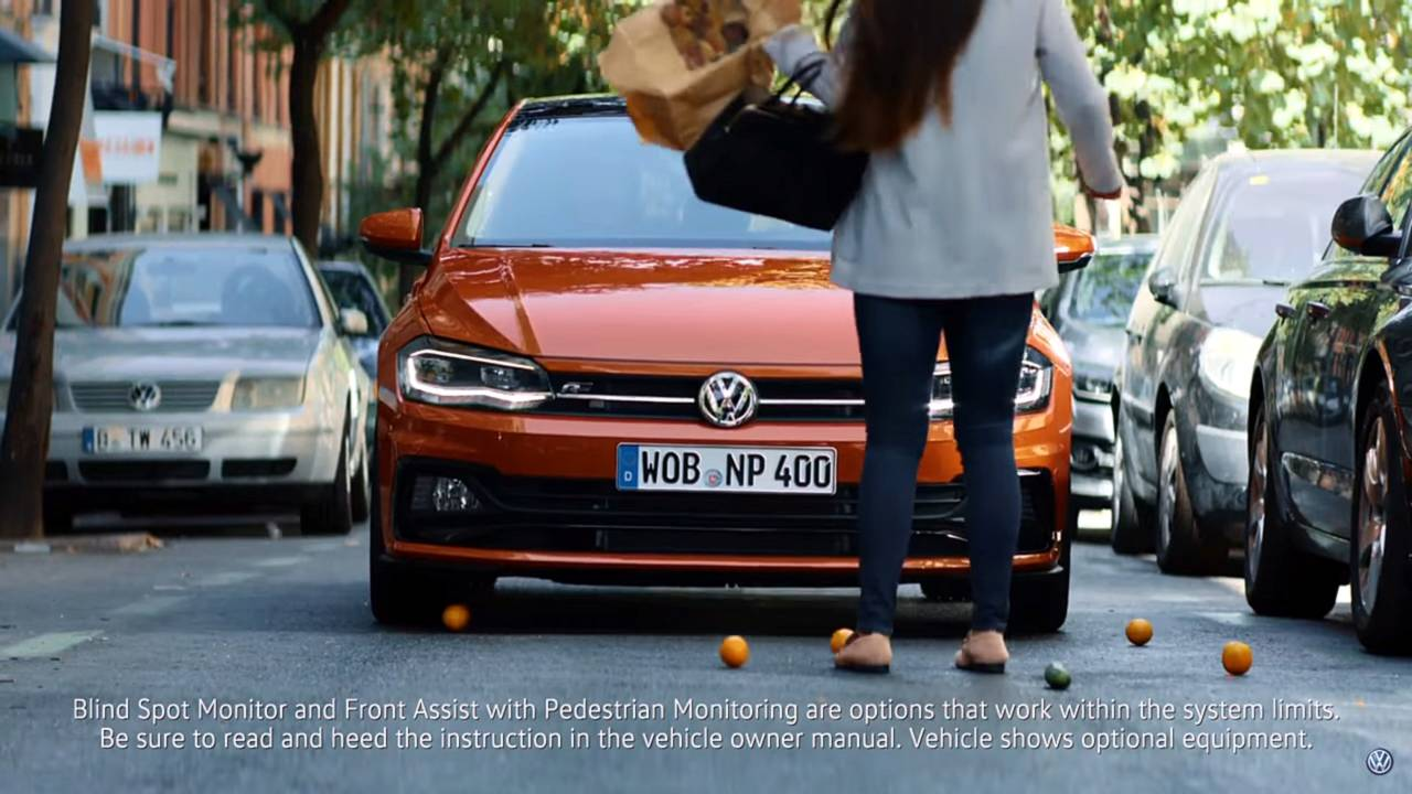 VW Polo Banned Advert