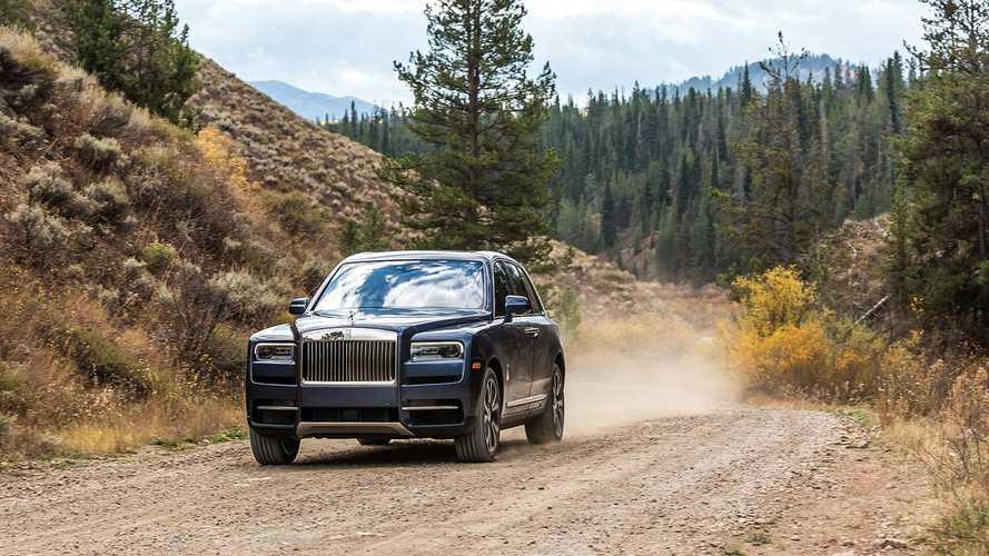 Rolls-Royce'un ilk SUV'si Cullinan Türkiye'de