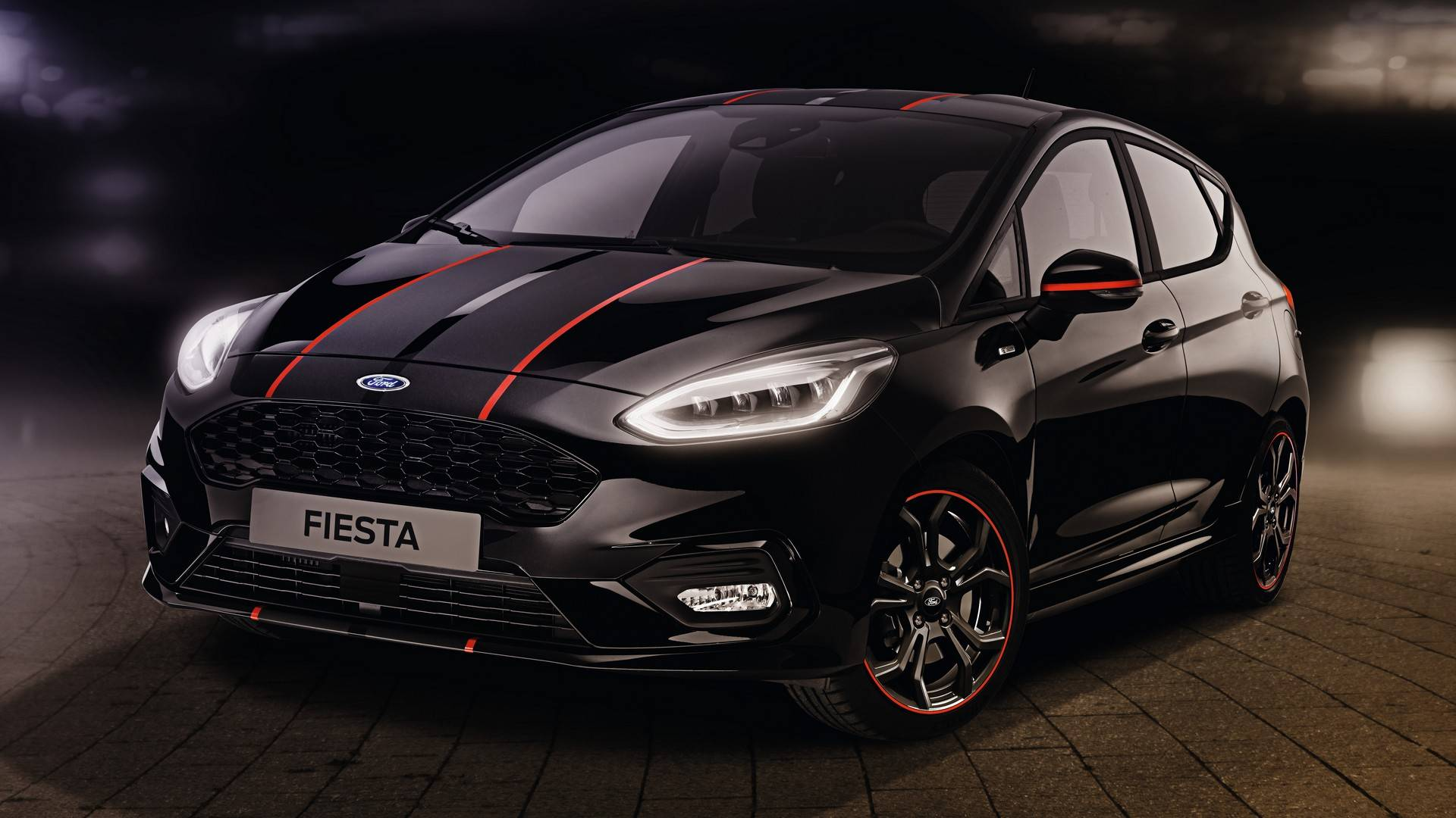 Ford fiesta red and black editions launched with 1 0l ecoboost