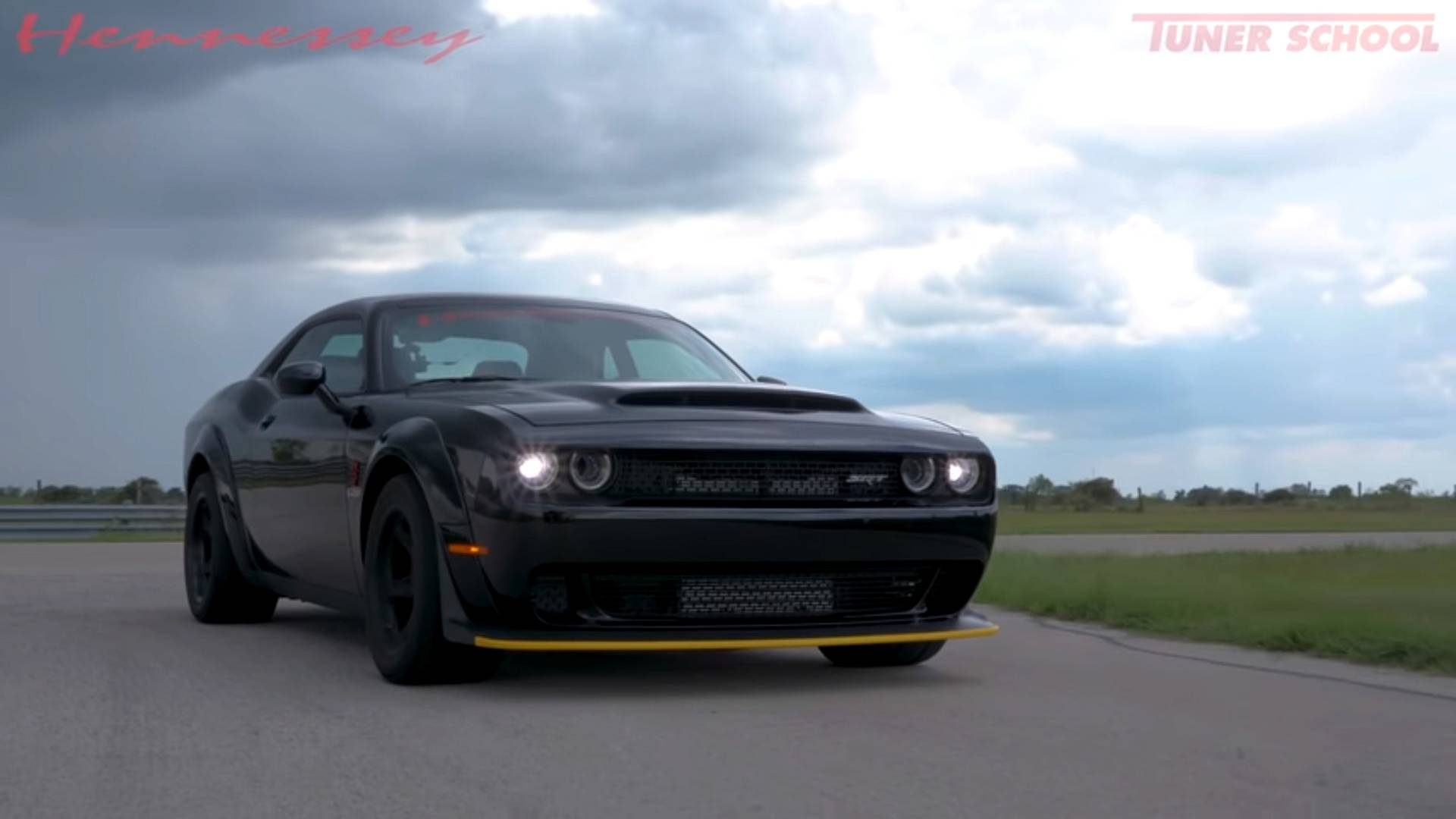 See Hennessy Test Customer S 1 200 Hp Dodge Demon Before Delivery