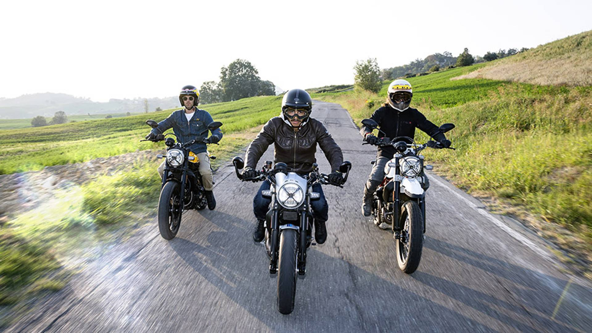 More Scramblers Ducati Unveils Three New Variants