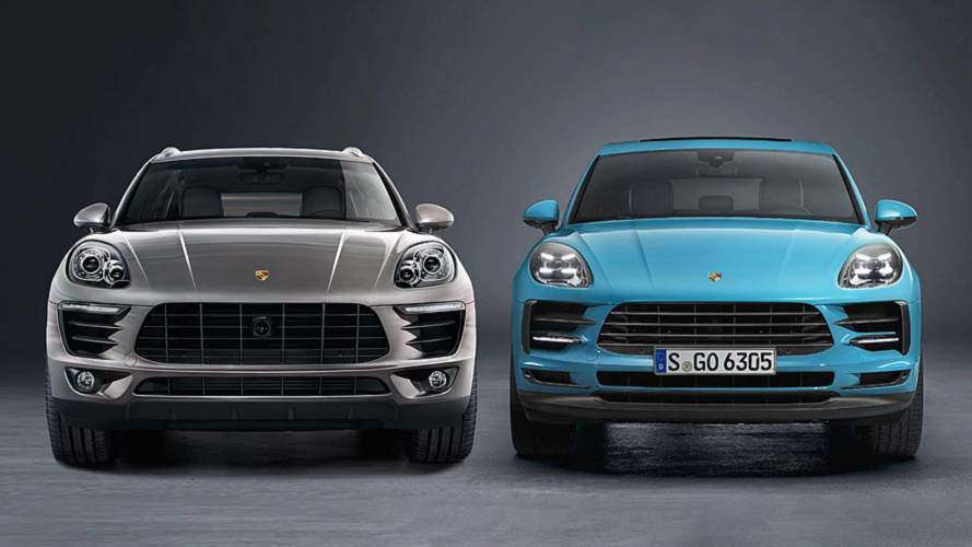 Porsche Macan: See The Changes Side-By-Side