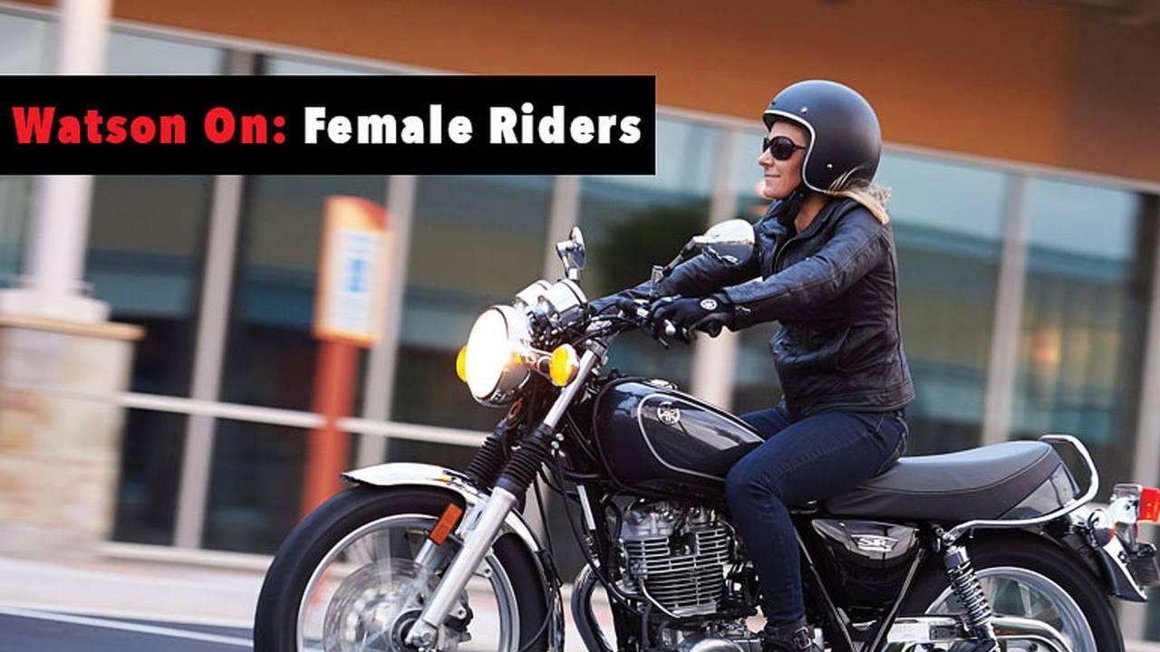 Watson On: Female Riders