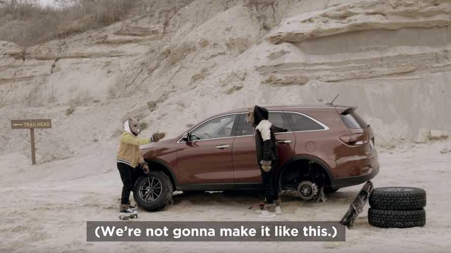 Jeep, Kia Sorento'nun off-road reklamıyla dalga geçti