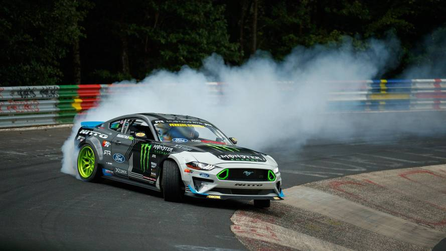 See 900-HP Ford Mustang RTR Drift The Entire Nurburgring [UPDATE]