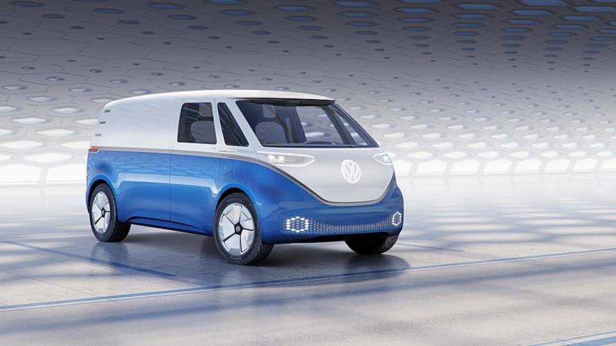 Volkswagen Reveals I.D. BUZZ CARGO Electric Van