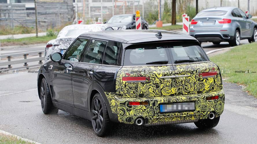 Mini Clubman JCW Spy Shots