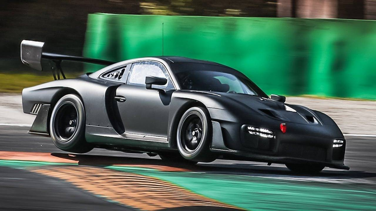 New Porsche 935 Seen At Monza With Sinister All Black Look
