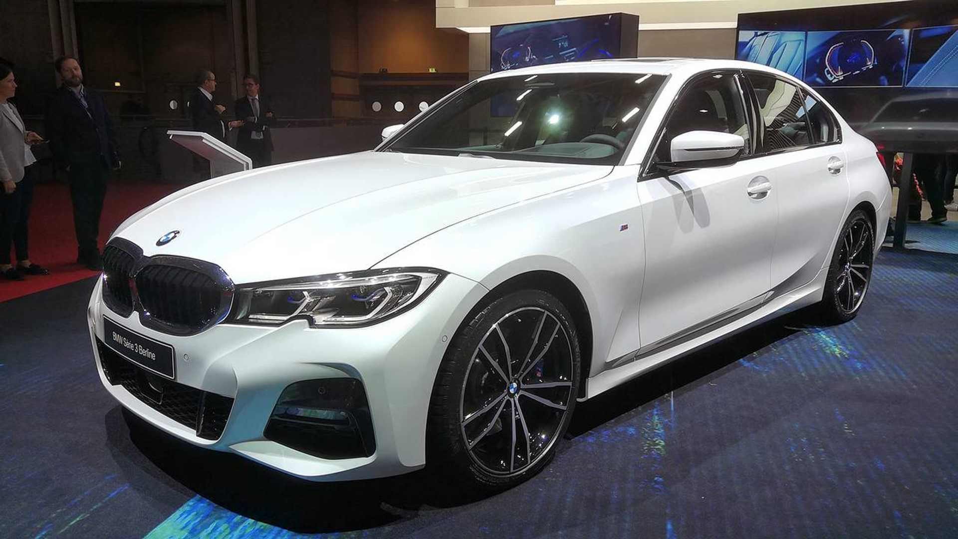 Flagra: Novo BMW Série 3 já está no Brasil e deve aparecer no Salão do Automóvel Bmw-3er-2019-auf-dem-pariser-autosalon