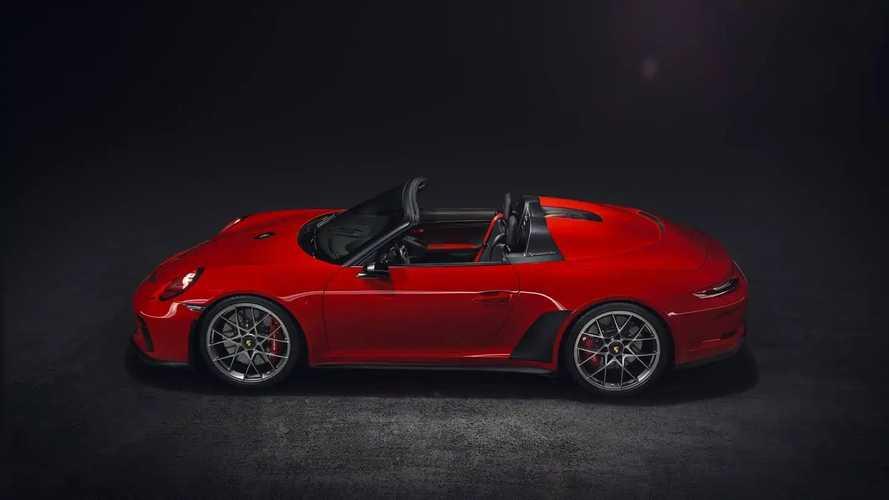Porsche 911 Speedster'ın Yeni Konsepti (Paris Oto Show)