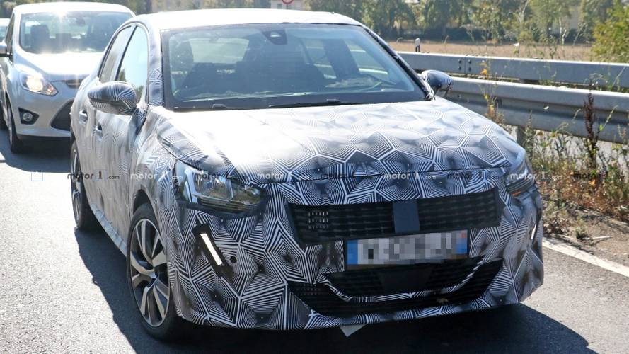 2019 Peugeot 208 new spy shots