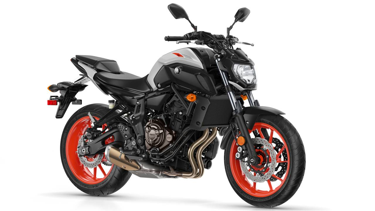 2019 Yamaha MT-07, 09, and 10