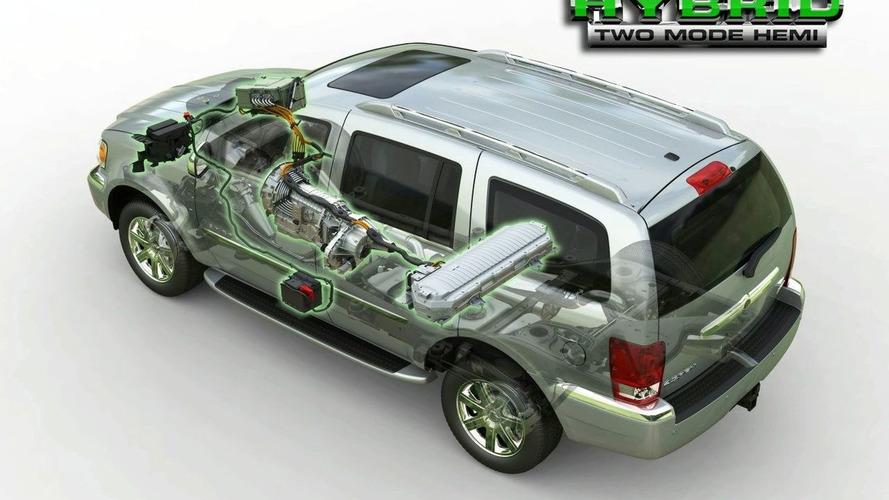 Presenting The 2009 Chrysler Aspen Hybrid