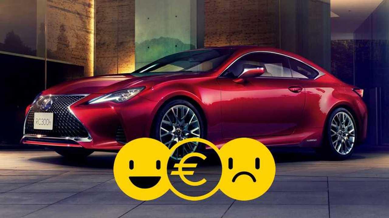 Promozione Lexus RC, perché conviene e perché no