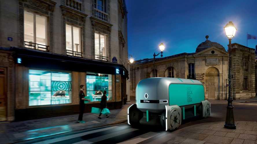 Renault EZ-PRO, il concept che rivoluziona la logistica dell'ultimo miglio