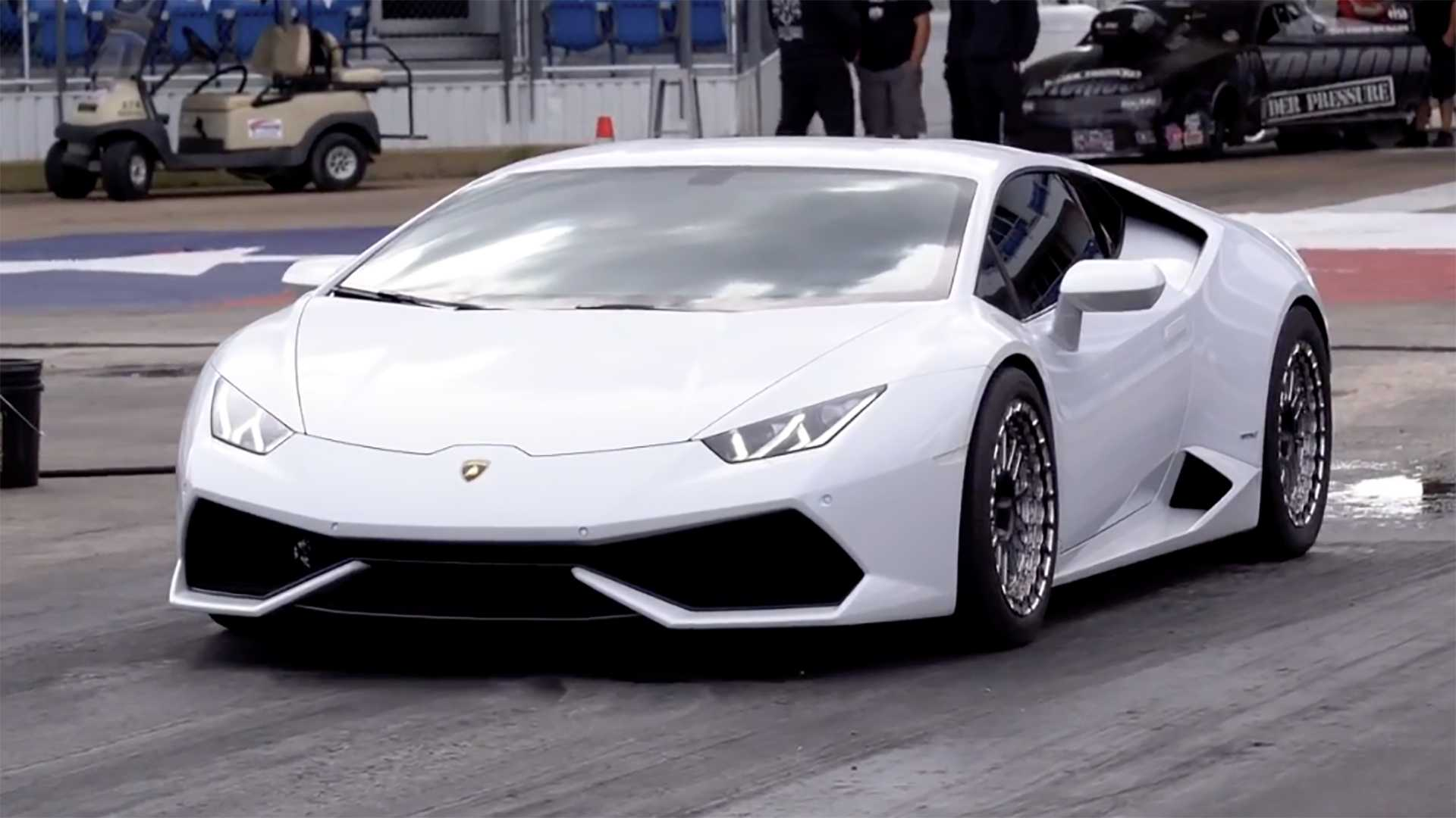 Lamborghini Huracan Horsepower >> Watch 2 000 Hp Lamborghini Huracan Do Sub 8 Second Quarter Mile