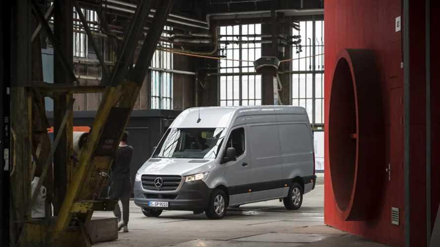Mercedes-Benz Sprinter 2018, test drive
