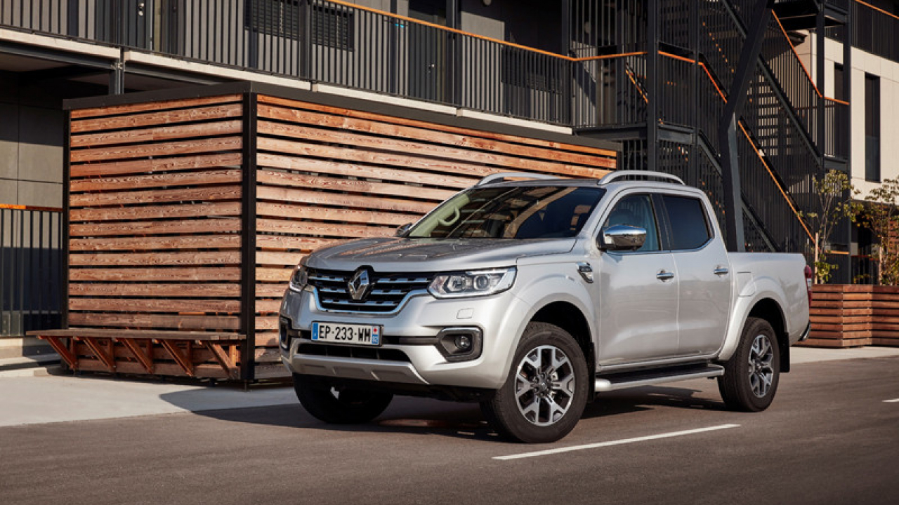 Renault Alaskan 2017 Europa
