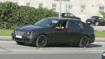 BMW V-Series Full Scale Prototype Spy Photos