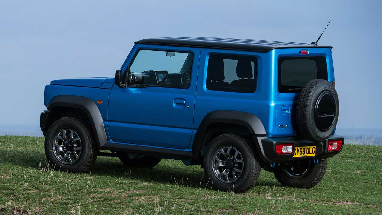 Suzuki Jimny UK market spec